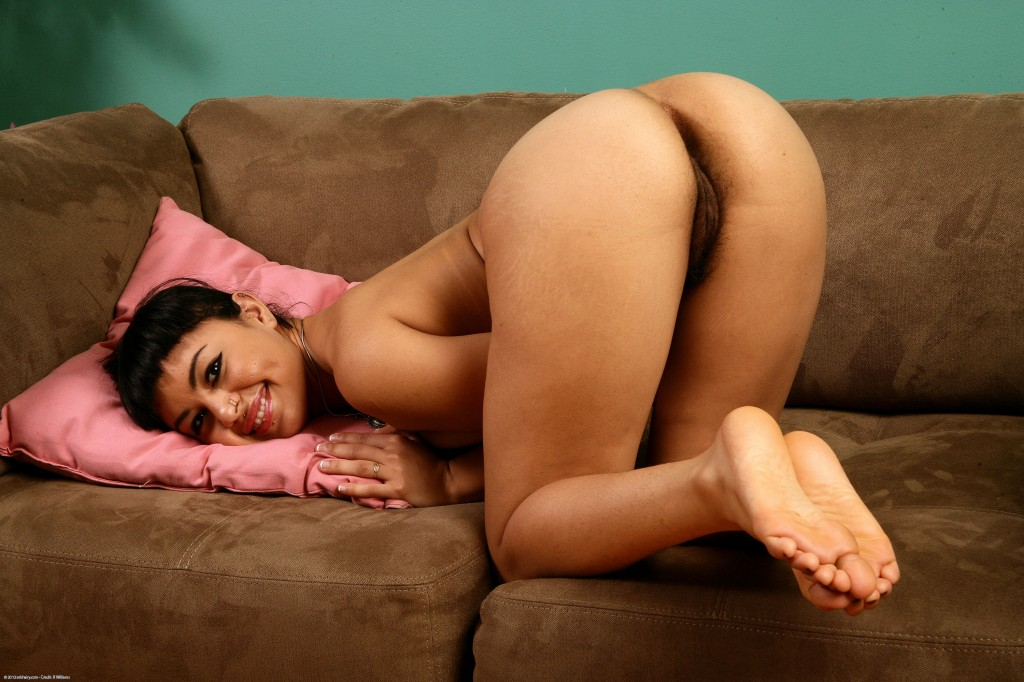 Hairy indian anal