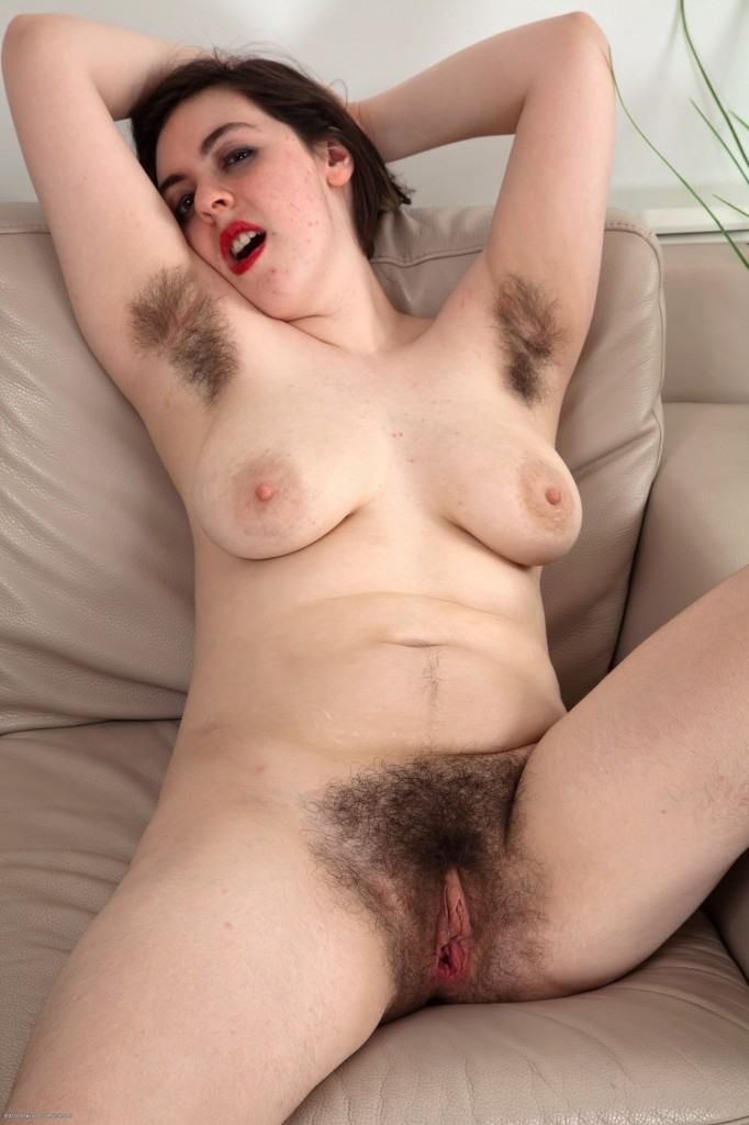 Naked hairy girl commit