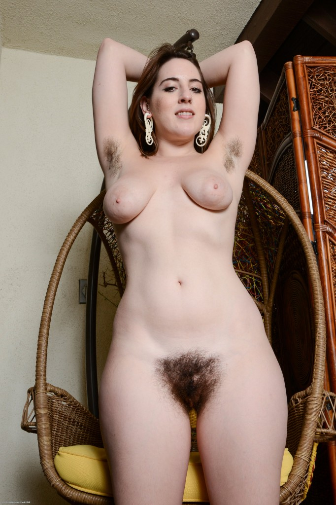 Woman Nude Hairy