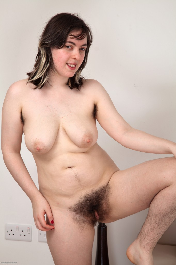 Hairy naked plain average nude women