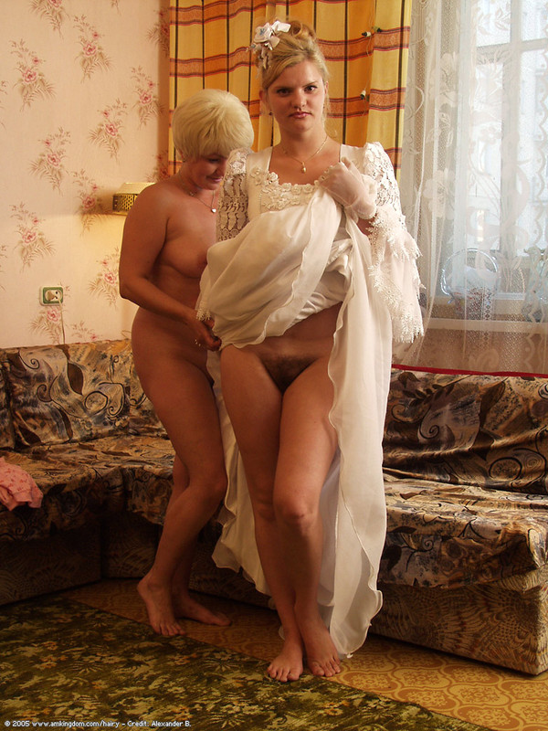exposed hairy brides