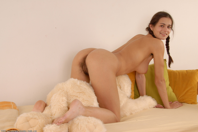 Only At Atk Natural Hairy Handicapt Girl