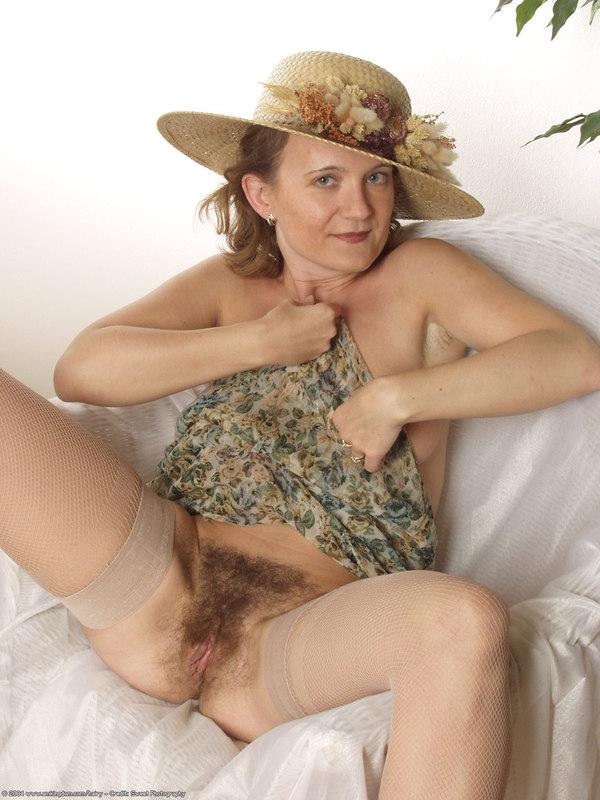 Atk modelo peludo natural