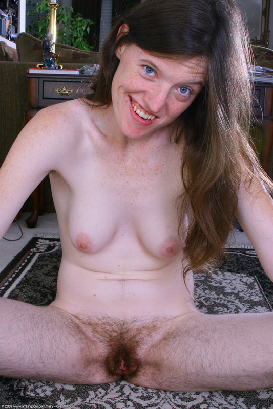 Sexy hairy nude women