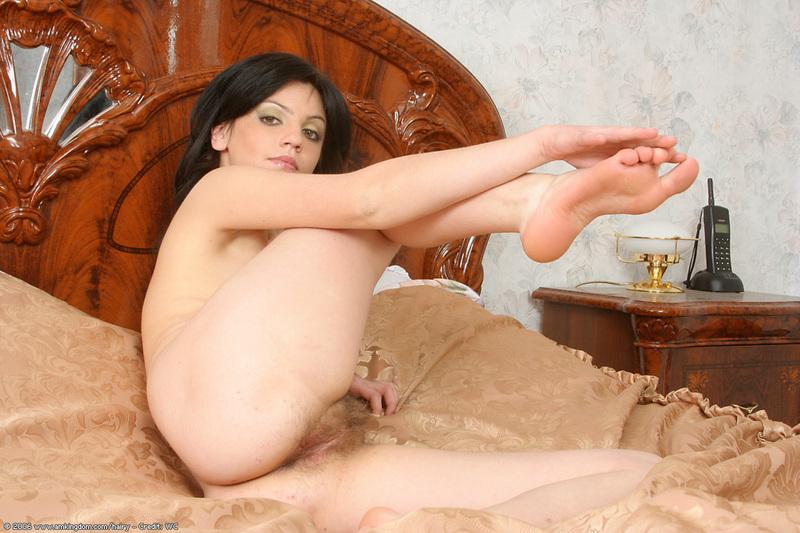 submissive girl with bondage strip poker