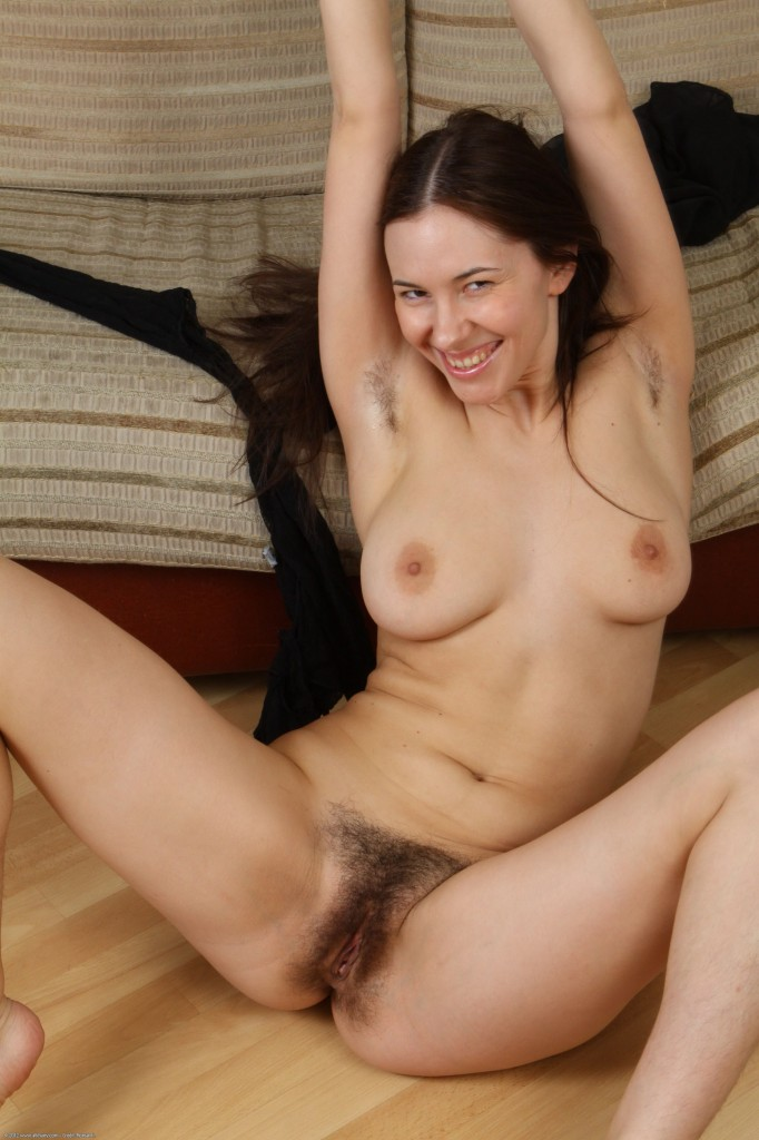 Only At Atk Natural Hairy Girl Cum