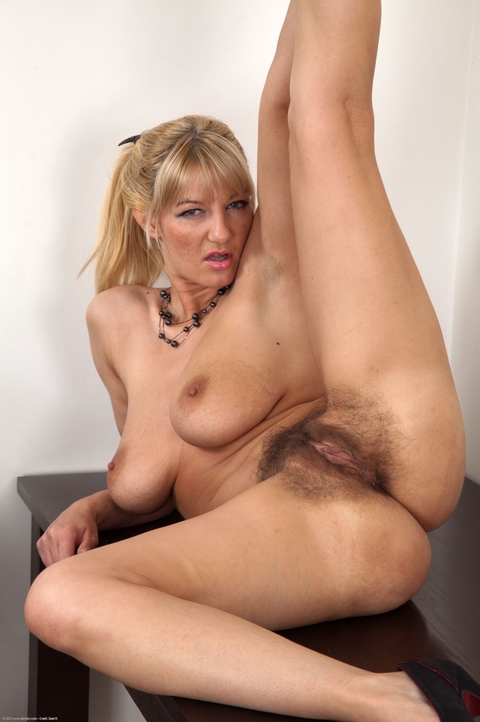 Makes hard! hairy assed women fucking