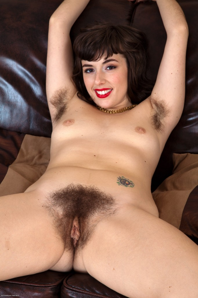 Natural Hairy Nude Women