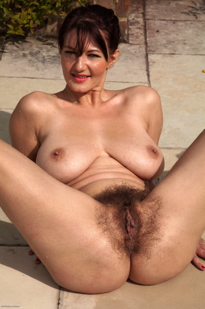 Mature erotic hairy women