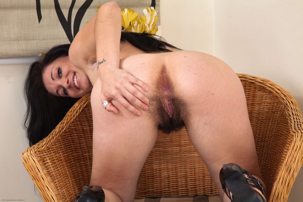 Hairy up ass