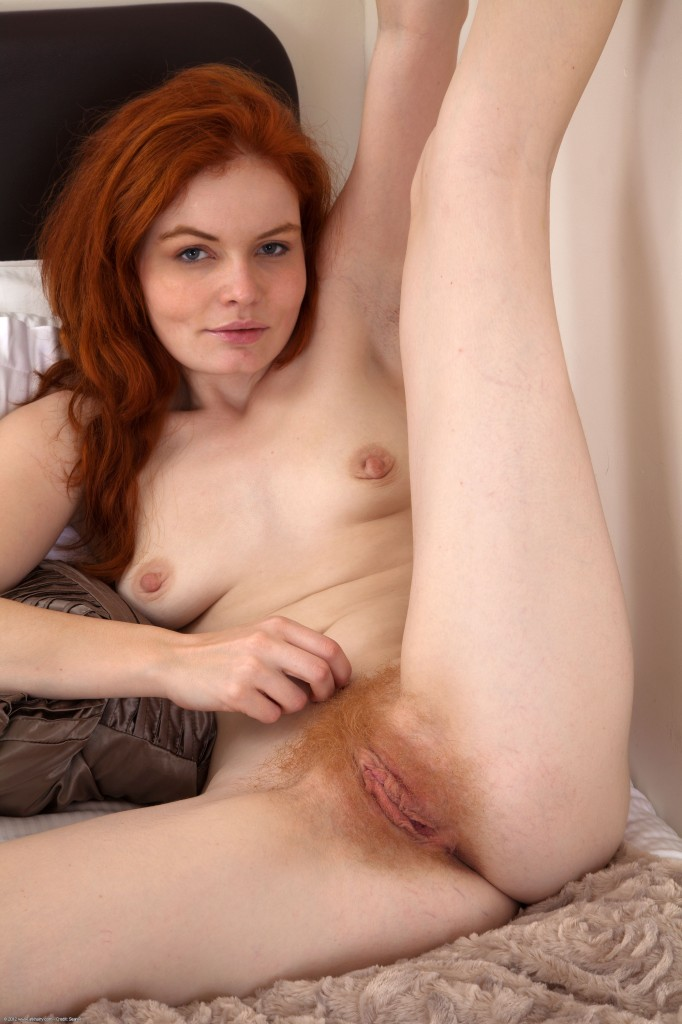 Natural red head pussy agree