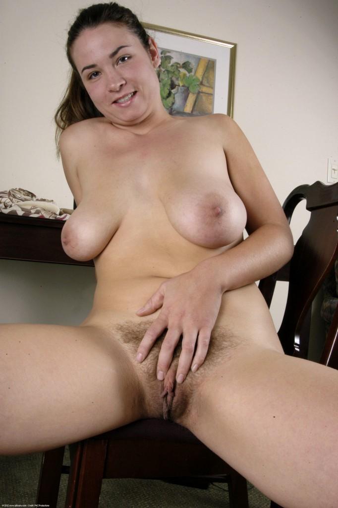 Hairy nude tranny