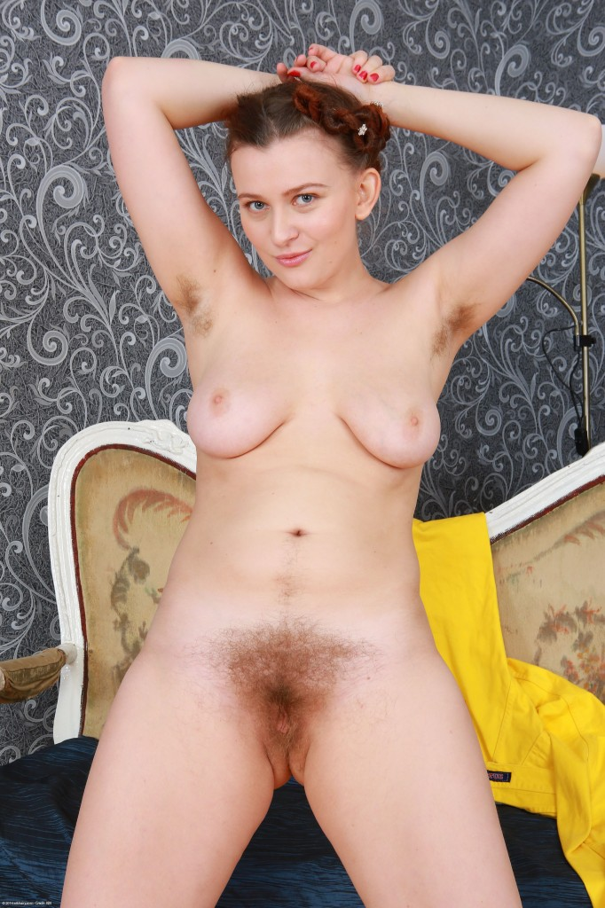 Hairy home girls congratulate