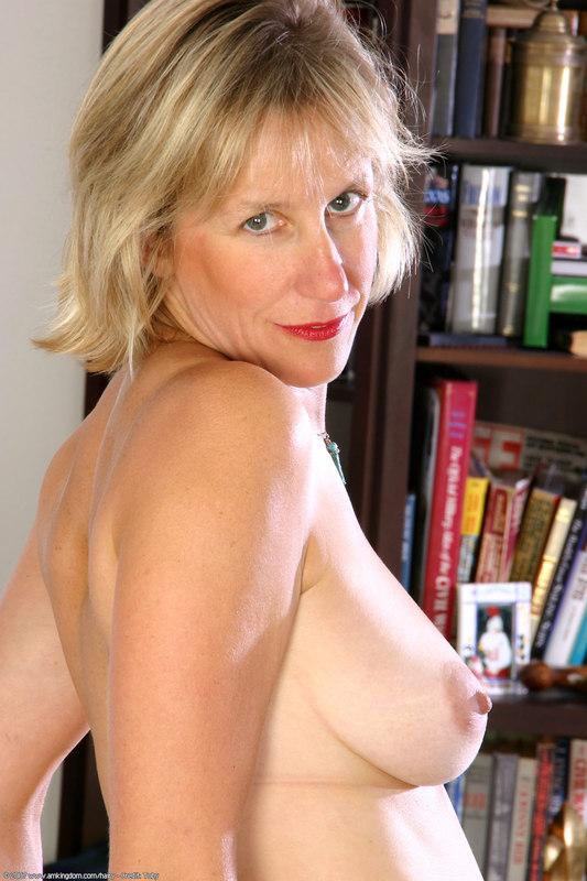 regular people posed nude